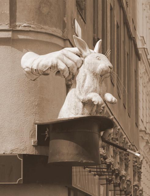 Zaubertrick Hase aus dem Hut