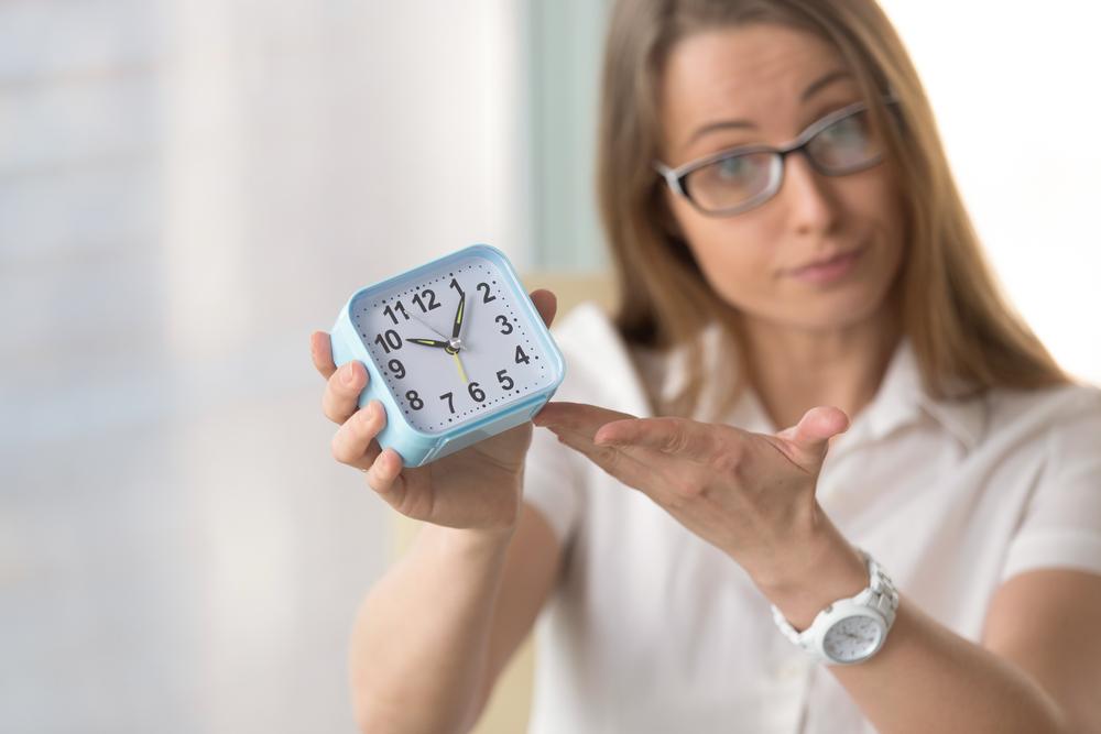 Uhrzeit Shutterstock