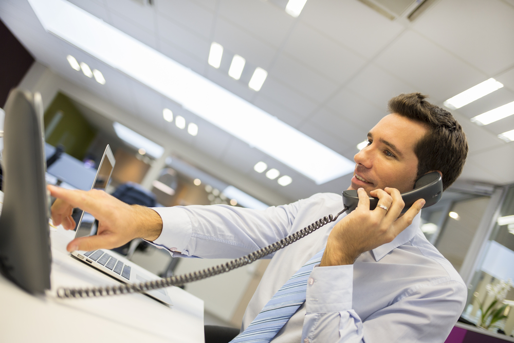 mann telefon büro